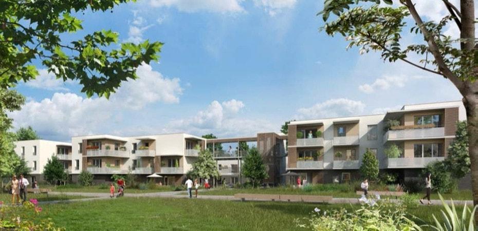Image illustrant le projet Les Balcons de la Roseraie