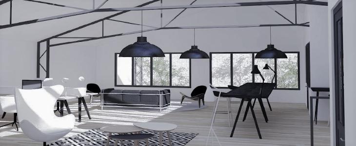 Image illustrant le projet Le Loft Rousseau